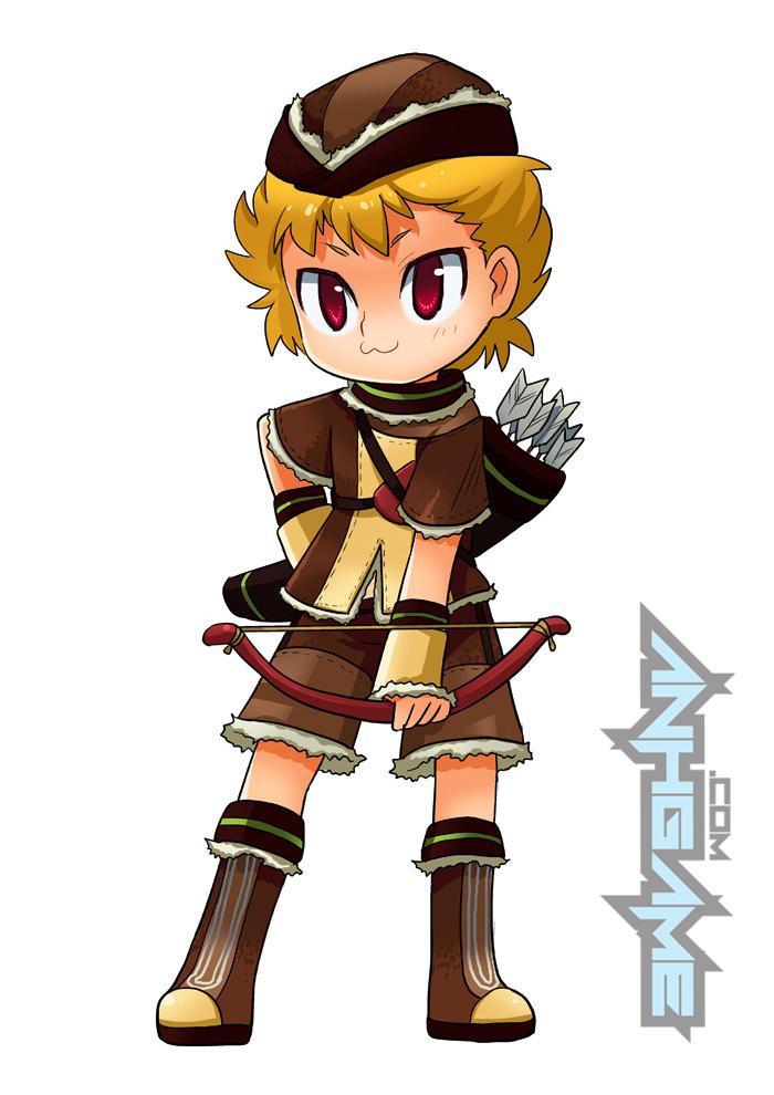 Tạo hình các nhân vật siêu cute trong Canaan Online - Ảnh 6