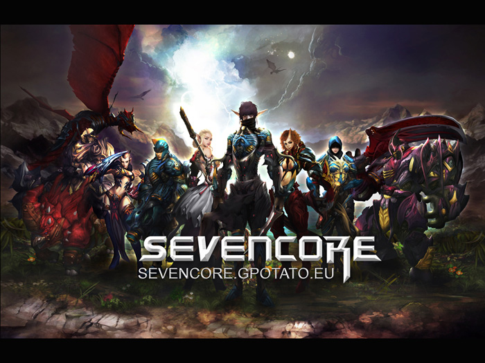 Hình nguyên họa cực chất của Seven Core - Ảnh 1