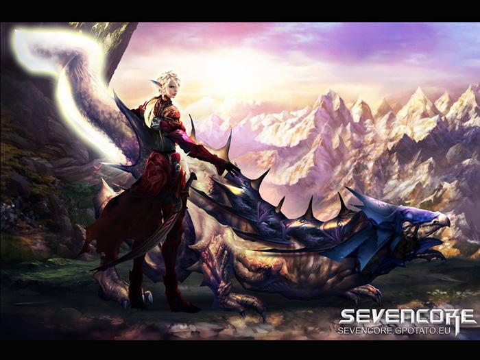 Hình nguyên họa cực chất của Seven Core - Ảnh 2