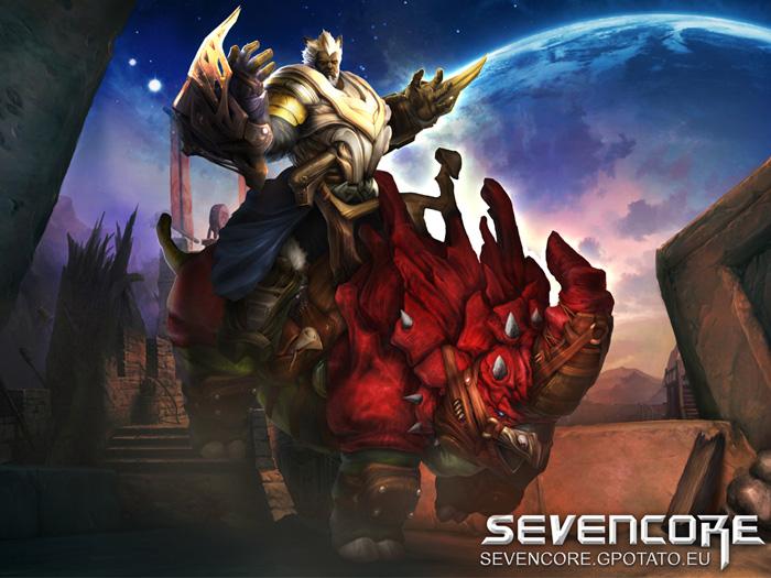Hình nguyên họa cực chất của Seven Core - Ảnh 4