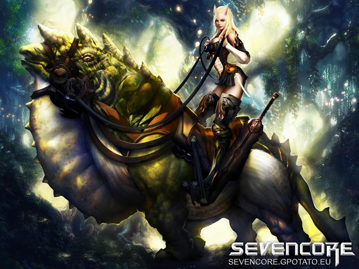 Hình nguyên họa cực chất của Seven Core - Ảnh 6