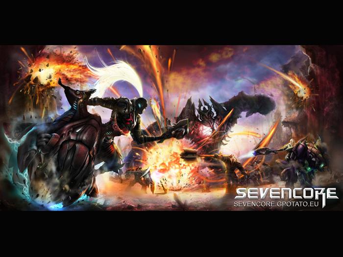 Hình nguyên họa cực chất của Seven Core - Ảnh 7