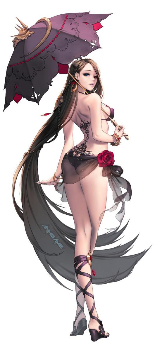 Tạo hình nhân vật nữ nóng bỏng của Chaos Online