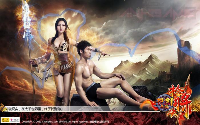 """""""Cháy mắt"""" với ảnh quảng cáo Đao Kiếm của ChangYou - Ảnh 10"""