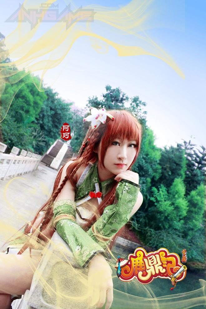Thêm một bộ ảnh cosplay tuyệt đẹp của Lộc Đỉnh Ký - Ảnh 2
