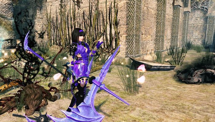 Mabinogi Heroes: Evie và lưỡi hái tử thần màu tím - Ảnh 2