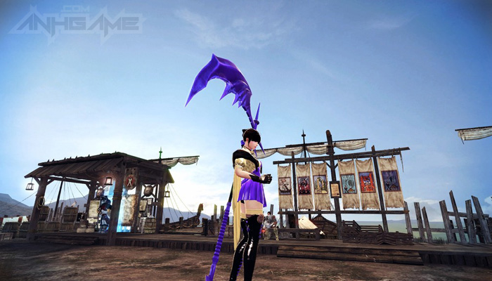 Mabinogi Heroes: Evie và lưỡi hái tử thần màu tím - Ảnh 10