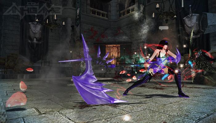 Mabinogi Heroes: Evie và lưỡi hái tử thần màu tím - Ảnh 12