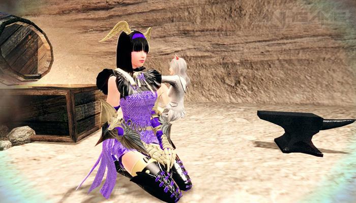 Mabinogi Heroes: Evie và lưỡi hái tử thần màu tím - Ảnh 15