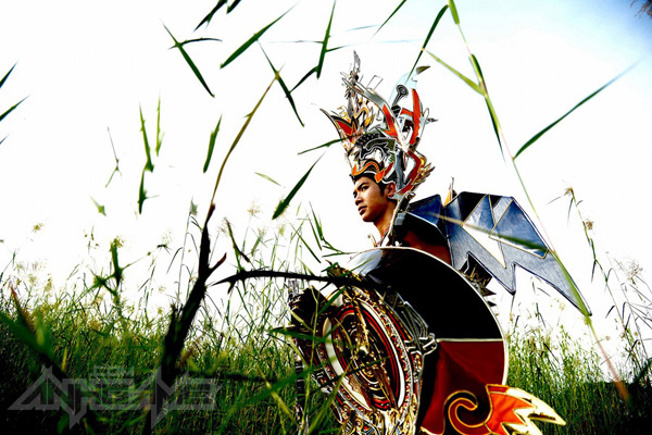 Trương Nam Thành hóa thân thành Thánh Gióng - Ảnh 1