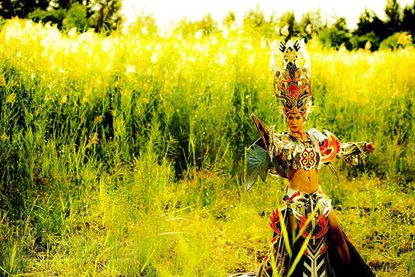 Trương Nam Thành hóa thân thành Thánh Gióng - Ảnh 8