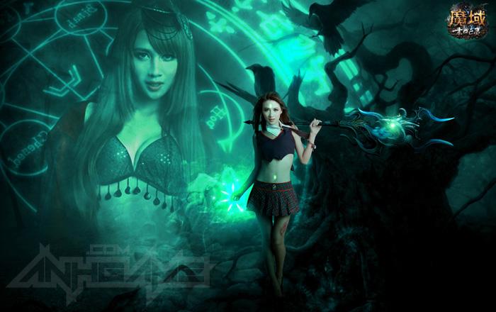 Cosplay ma mị quảng bá cho Eudemons Online - Ảnh 4