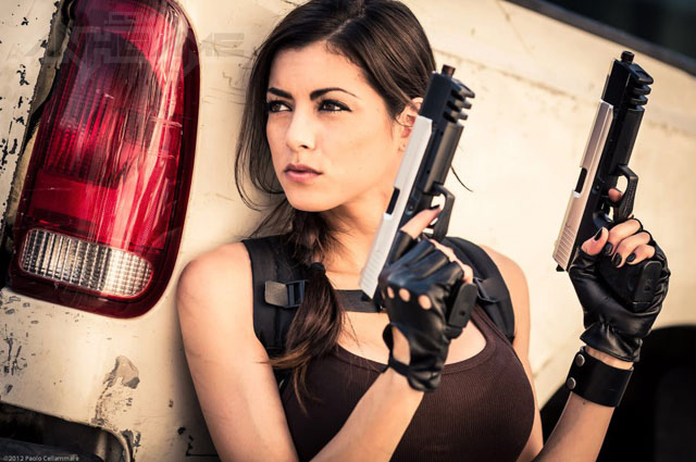LeeAnna Vamp gợi cảm với cosplay Lara Croft - Ảnh 2