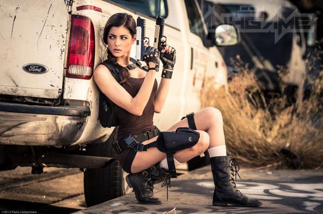 LeeAnna Vamp gợi cảm với cosplay Lara Croft - Ảnh 3