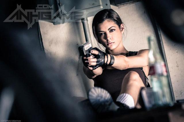 LeeAnna Vamp gợi cảm với cosplay Lara Croft - Ảnh 5