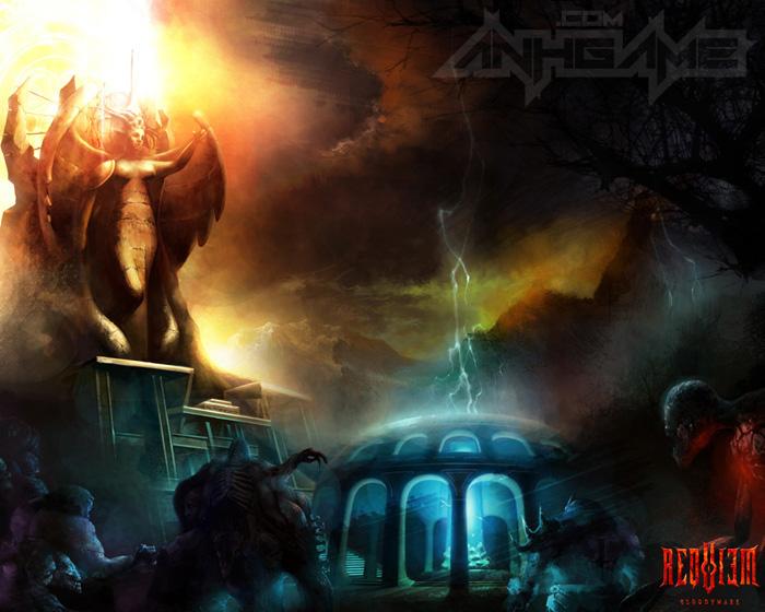 Hình nền tuyệt đẹp của MMORPG 18+ Requiem - Ảnh 8