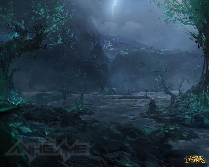 Bộ hình nền tuyệt đẹp của Liên Minh Huyền Thoại - Ảnh 23