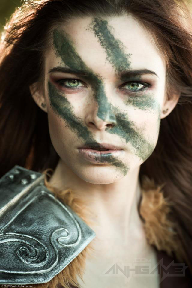 Ngắm người sói Aela trong Elder Scrolls V Skyrim - Ảnh 3