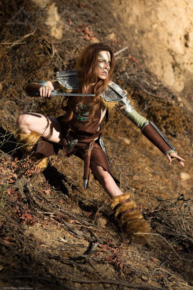 Ngắm người sói Aela trong Elder Scrolls V Skyrim - Ảnh 5