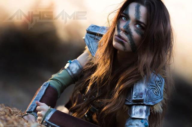 Ngắm người sói Aela trong Elder Scrolls V Skyrim - Ảnh 10