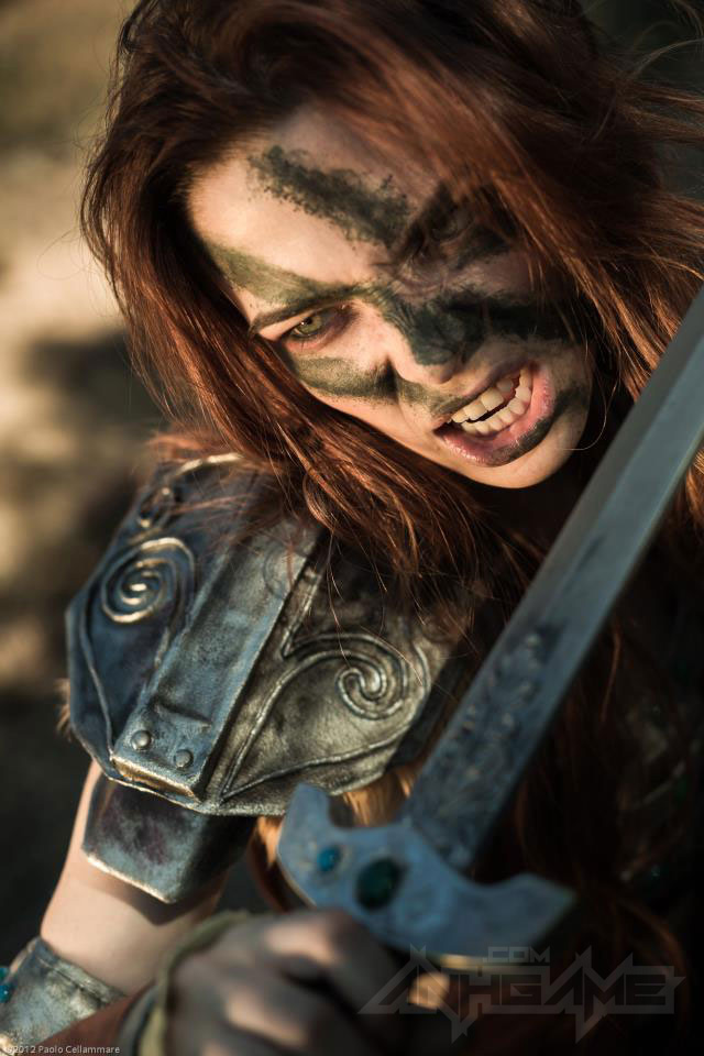 Ngắm người sói Aela trong Elder Scrolls V Skyrim - Ảnh 11