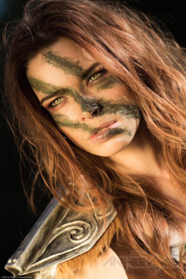 Ngắm người sói Aela trong Elder Scrolls V Skyrim - Ảnh 13