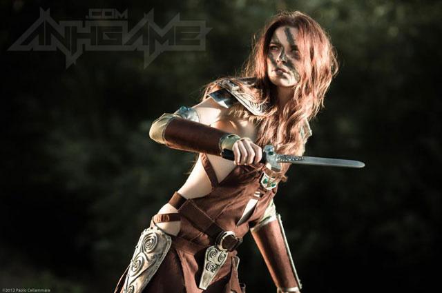 Ngắm người sói Aela trong Elder Scrolls V Skyrim - Ảnh 16