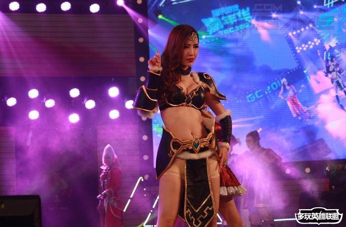 Ngắm cosplay Liên Minh Huyền Thoại tại TGC 2012 - Ảnh 22