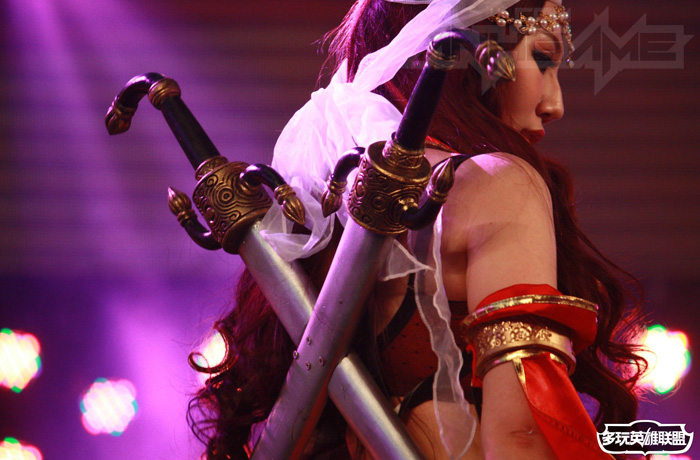 Ngắm cosplay Liên Minh Huyền Thoại tại TGC 2012 - Ảnh 27