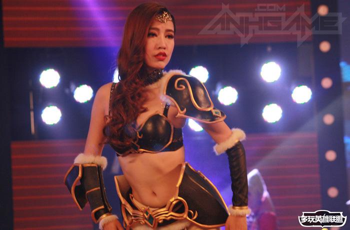 Ngắm cosplay Liên Minh Huyền Thoại tại TGC 2012 - Ảnh 10