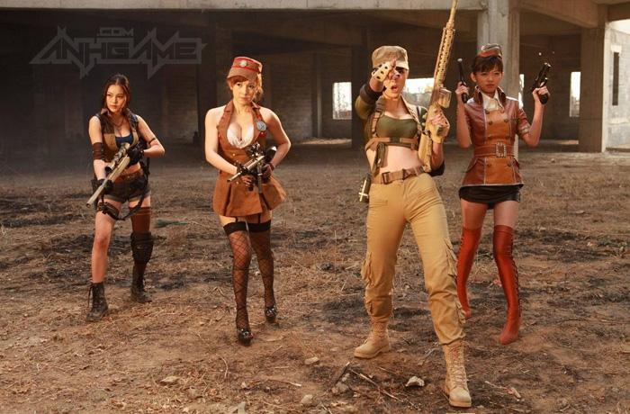 Thêm một bộ ảnh cosplay Đột Kích tuyệt đẹp - Ảnh 48