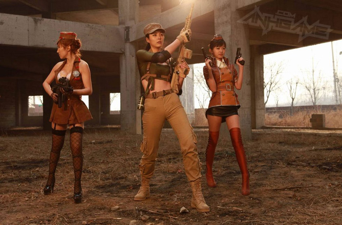Thêm một bộ ảnh cosplay Đột Kích tuyệt đẹp
