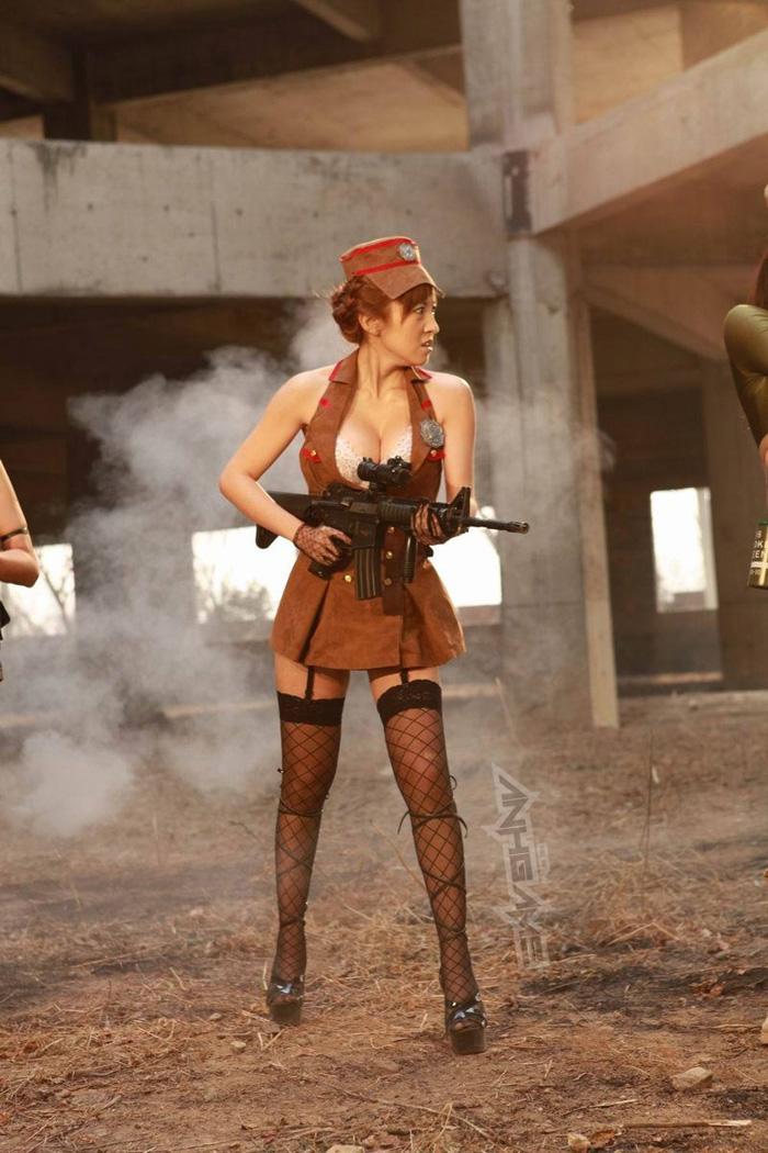 Thêm một bộ ảnh cosplay Đột Kích tuyệt đẹp - Ảnh 38