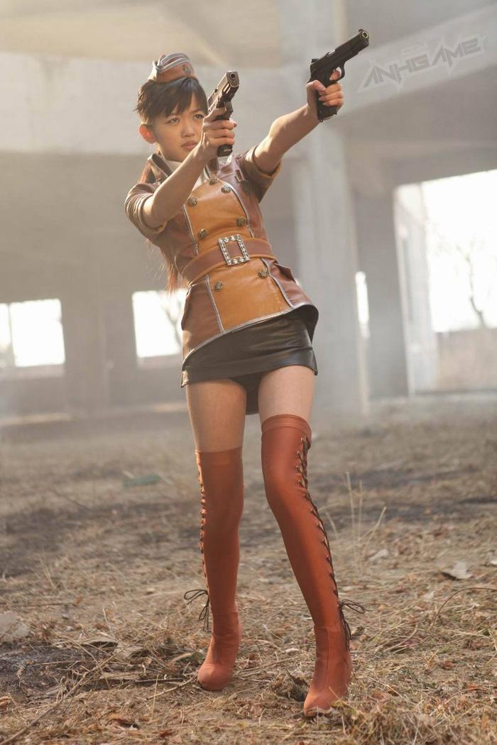 Thêm một bộ ảnh cosplay Đột Kích tuyệt đẹp - Ảnh 17