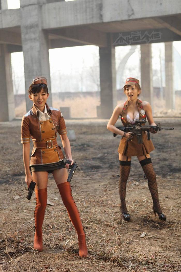 Thêm một bộ ảnh cosplay Đột Kích tuyệt đẹp - Ảnh 7