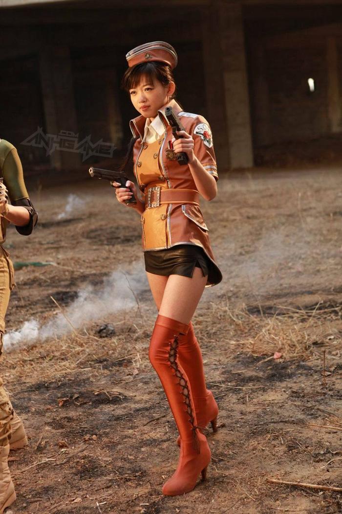 Thêm một bộ ảnh cosplay Đột Kích tuyệt đẹp - Ảnh 6