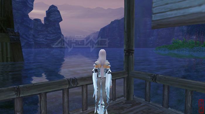 Thiếu nữ và phong cảnh tuyệt đẹp trong VLTK 3
