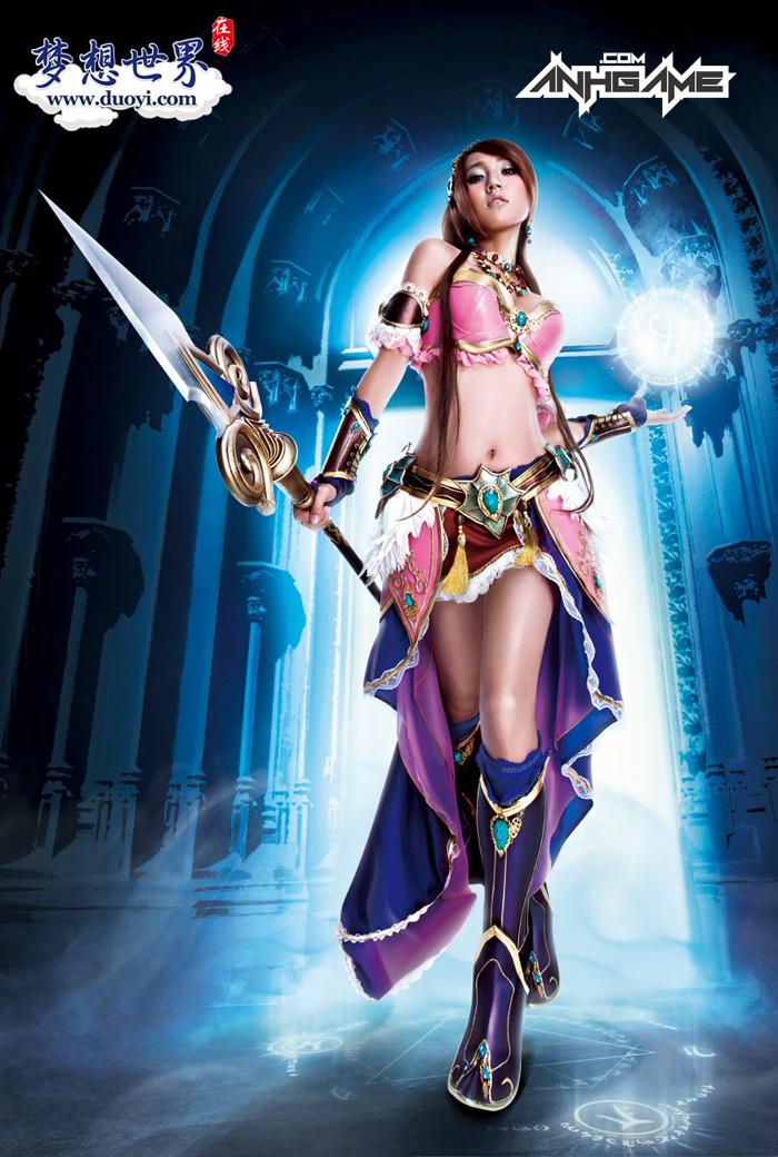 Bộ ảnh cosplay Mộng Tưởng Thế Giới cực ấn tượng