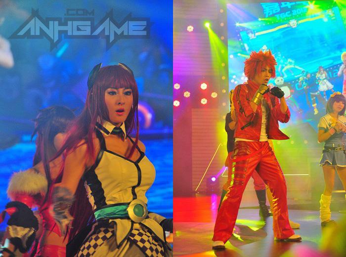 Biểu diễn cosplay Huyễn Đẩu Chi Vương tại TGC 2012