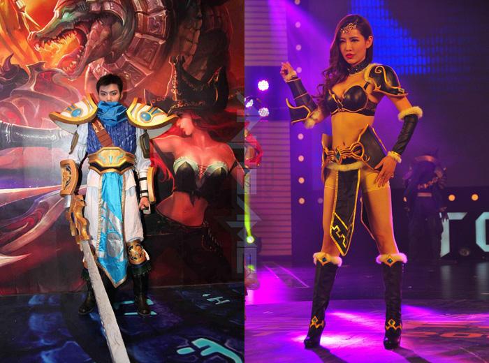 Trình diễn cosplay League of Legends tại TGC 2012