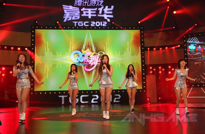 Wonder Girls nhảy múa cực xung tại TGC 2012 - Ảnh 8