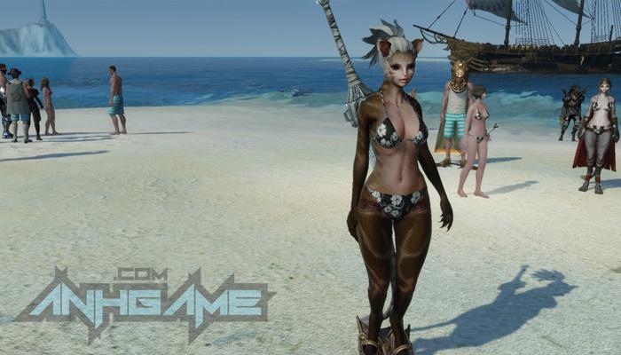 Khi ArcheAge trở thành sàn diễn thời trang bikini