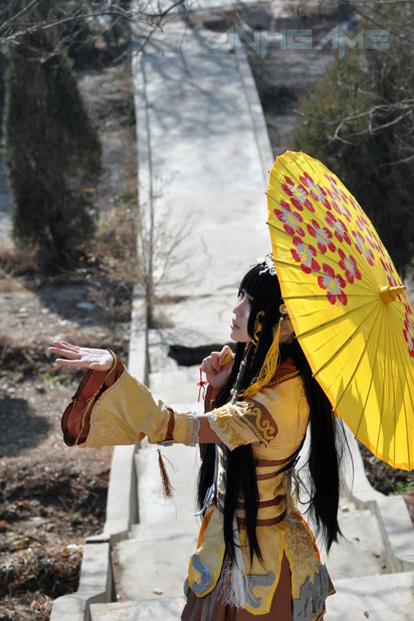 Haruno và bộ ảnh cosplay nữ hiệp Tàng Kiếm Sơn Trang - Ảnh 2