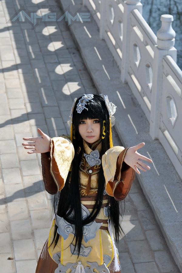 Haruno và bộ ảnh cosplay nữ hiệp Tàng Kiếm Sơn Trang - Ảnh 3