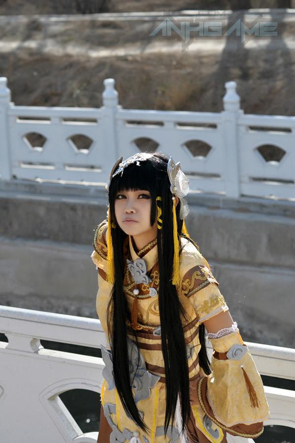 Haruno và bộ ảnh cosplay nữ hiệp Tàng Kiếm Sơn Trang - Ảnh 4