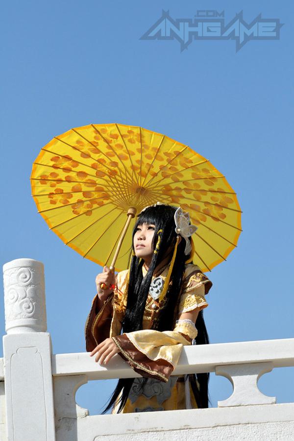 Haruno và bộ ảnh cosplay nữ hiệp Tàng Kiếm Sơn Trang - Ảnh 5