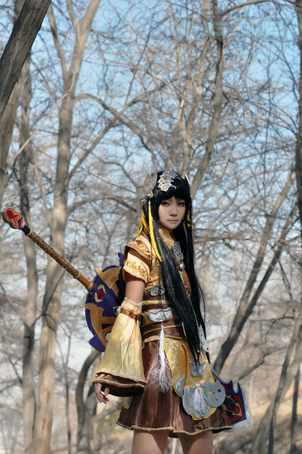Haruno và bộ ảnh cosplay nữ hiệp Tàng Kiếm Sơn Trang
