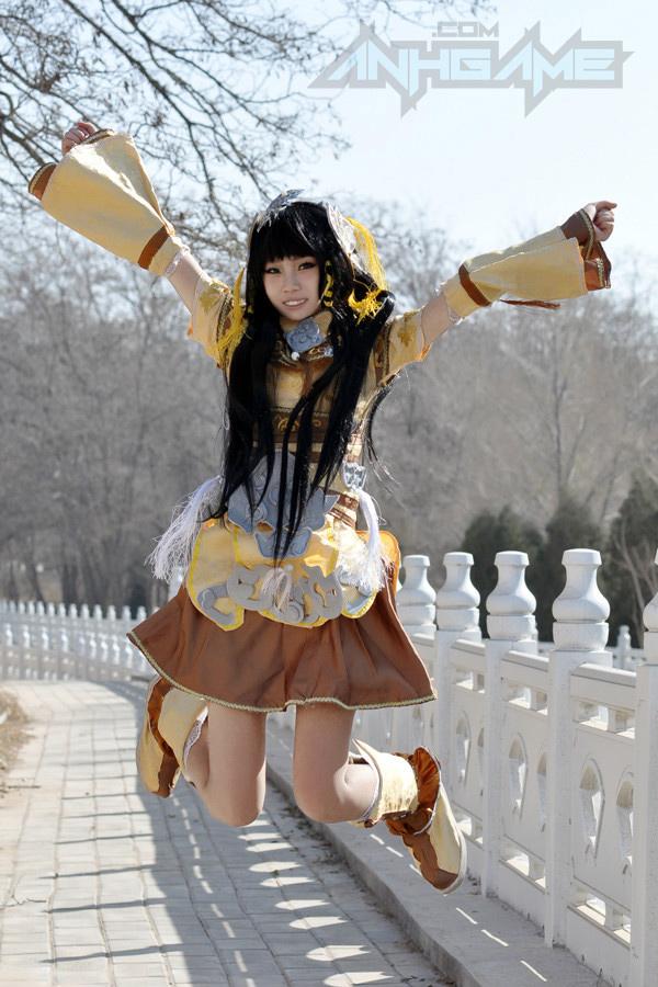 Haruno và bộ ảnh cosplay nữ hiệp Tàng Kiếm Sơn Trang - Ảnh 9