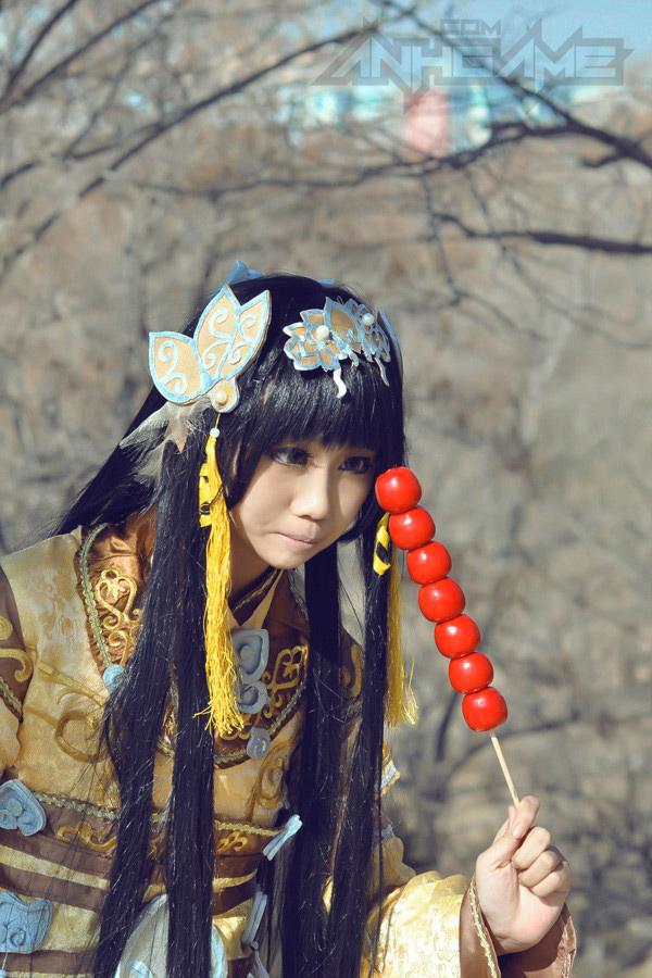 Haruno và bộ ảnh cosplay nữ hiệp Tàng Kiếm Sơn Trang - Ảnh 10