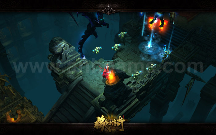 The Legend of Tibet: Game nhái Diablo III của NetEase - Ảnh 10